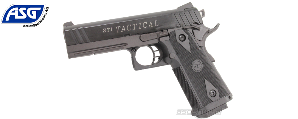 Airsoft pistol, GBB STI Tactical with metal slide