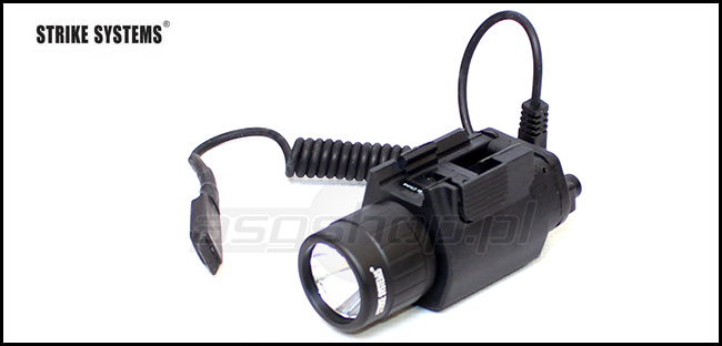 Tactical light - including switch