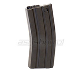 Magazynek ASG mid-cap do M4/M16 - 130 kulek / czarny do LMT DEFENDER