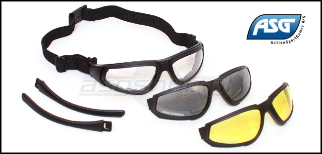 Advanced Combat Goggles (3 color kit)