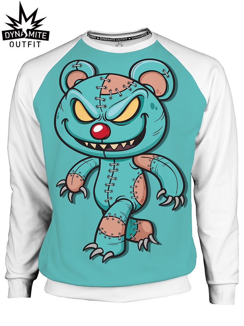 Men's sweater Crazy TeddyBear 2
