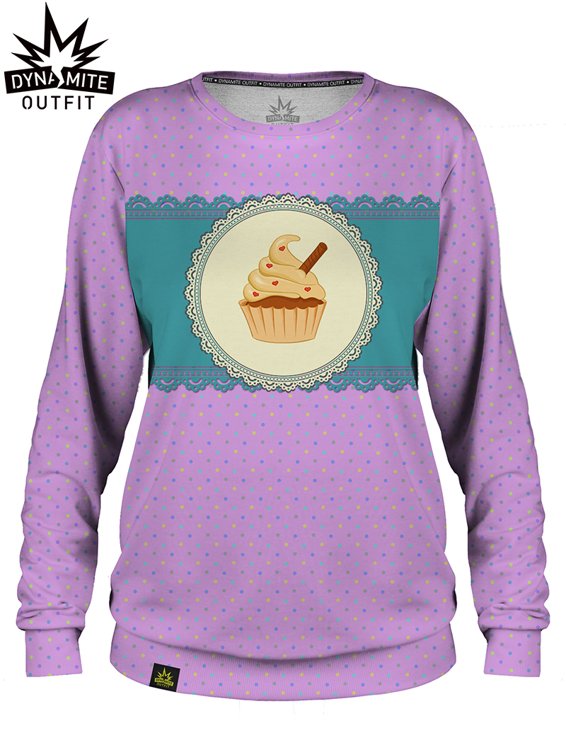 Women sweater Cupcake Pink