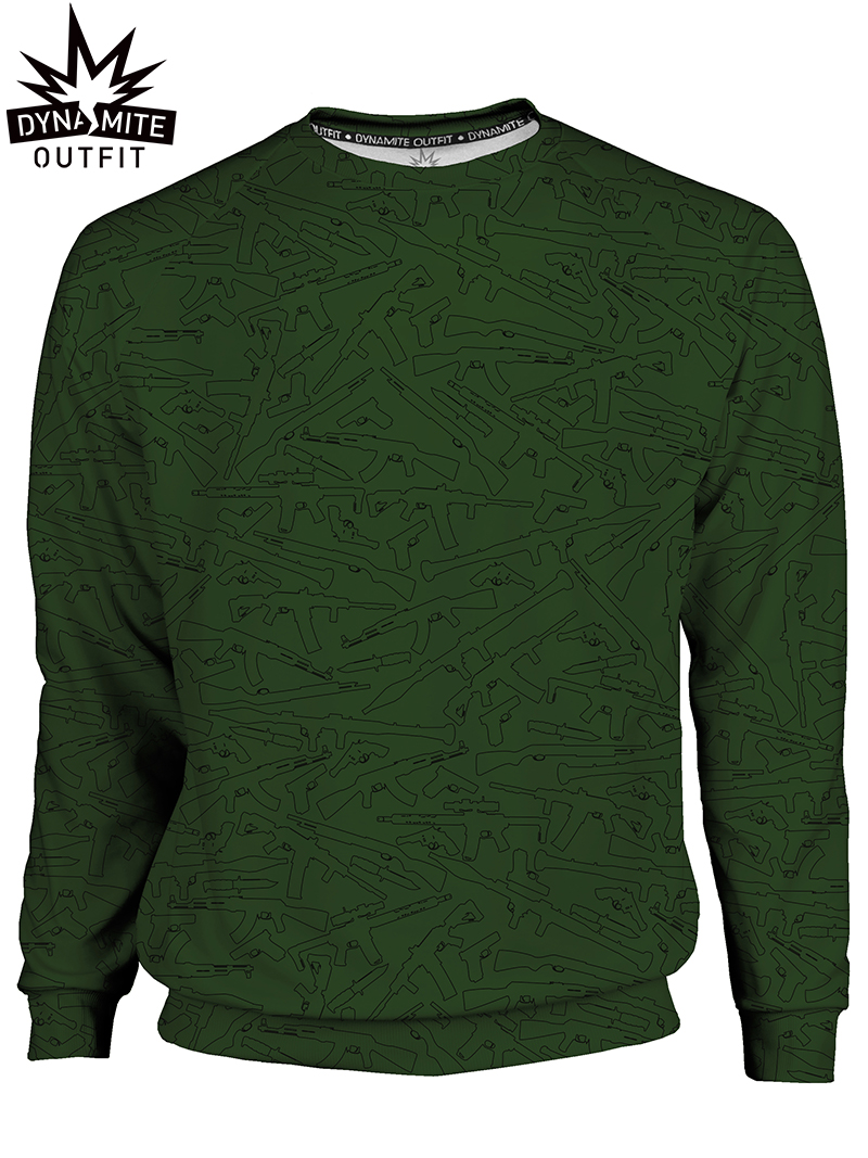Men's sweater Military Guns