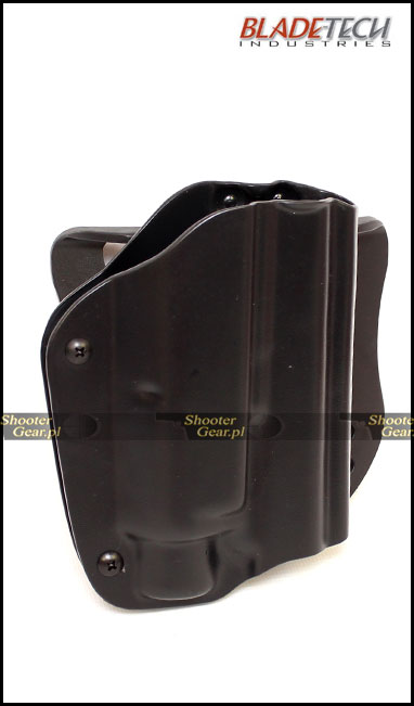 Outside Holster Paddle for Glock 17/22/31 with Streamlight TLR-2