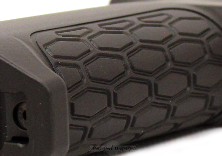 Airsoft MOTS Heat Sink Grip (Black) (CNC)