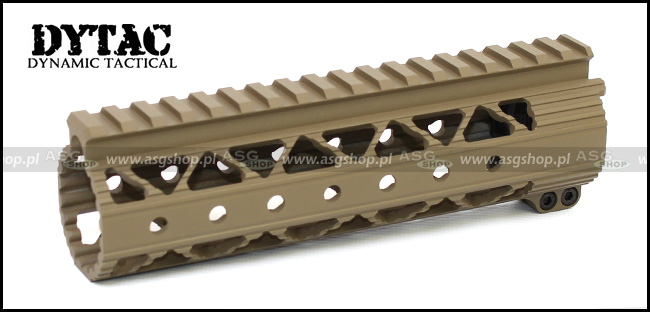 Invader Lite Rail System 7.2 inch Dark Earth
