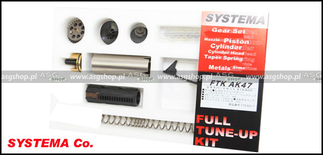FULL TUNE-UP KIT Expert Set for AK47 (M130 Spring)