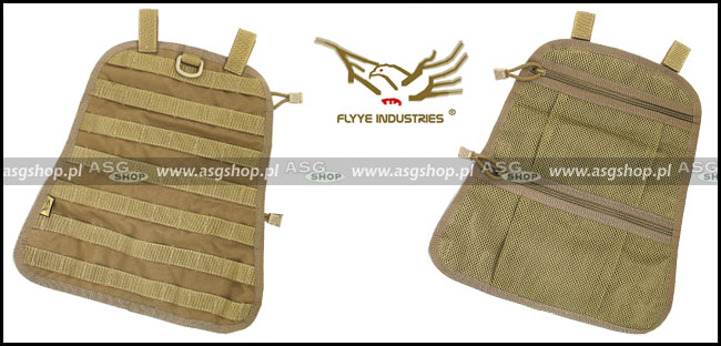 FAST EDC Backpack Built-in Molle Panel + Net Bag Coyote Brown