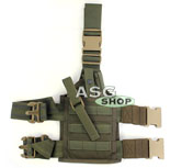Kabura SpecOps Seals Drop Leg Holster Ranger Green