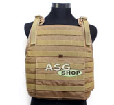 Kamizelka MOLLE Style PC Plate Carrier Coyote Brown
