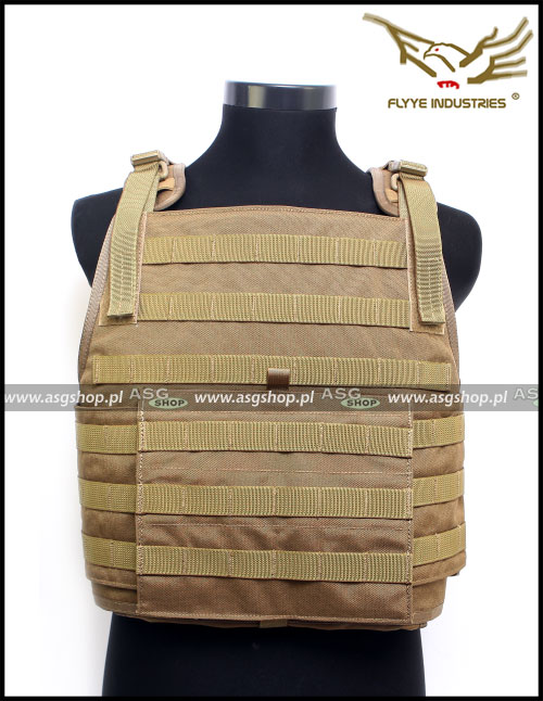 MOLLE Style PC Plate Carrier Coyote Brown