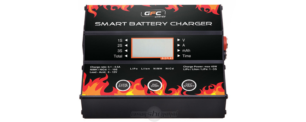 Microprocessor Controlled Smart Battery Charger