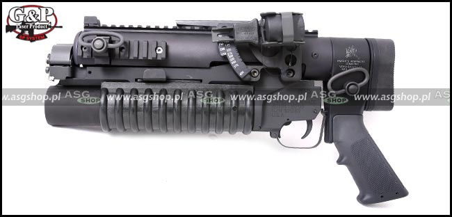 ASG Military Type Standalone Grenade Launcher Full Set ( Short )