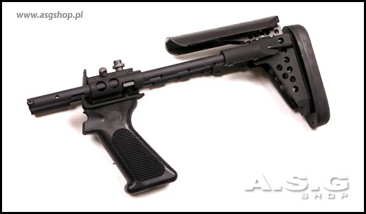 Conversion with tactical stock to the M870 tactical