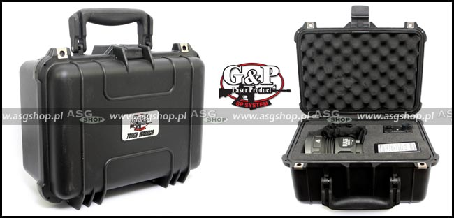 G&P 35W HID Rechargeable Spotlight II with Case (3500 Lumens)