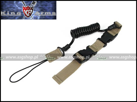 Tactical Pistol Lanyard - Tan