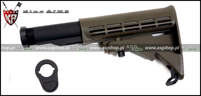 Stock for Airsoft M4 - color OD