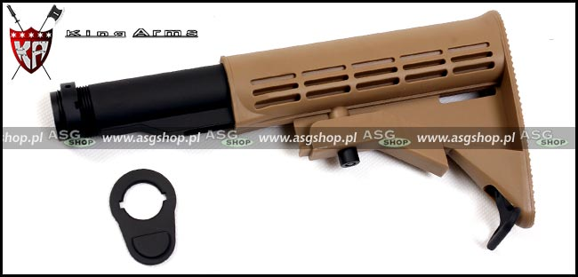 Stock for Airsoft M4 - Color TAN