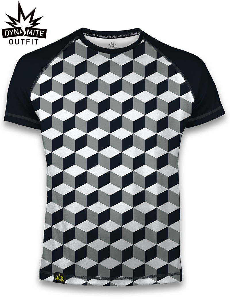 Sport T-shirt NavyBlock - men