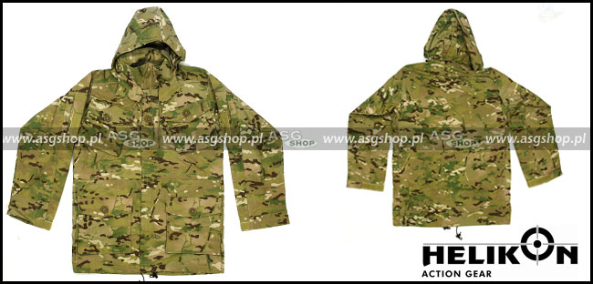 Field Parka Soldier 2008 Nyco Ripstop Camogrom M
