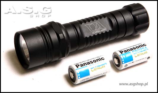 Tactical flashlight - Typ II