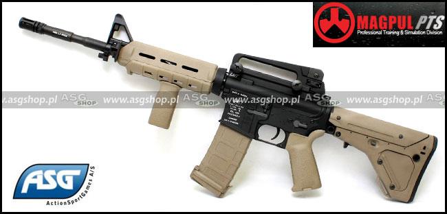 Zdjęcie: LMT Defender4 Carbine - Magpul UBR Custom DE ASG / KWA
