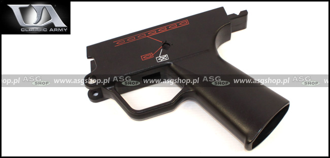 Pistol grip / Lower receiver for MP5A4