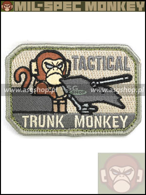 Oryginal Mil-Spec Monkey Morale Patch - Tactical Trunk Monkey ACU