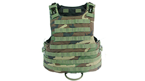 Kamizelka Airsoft  M.O.D. II Body Armor (Woodland)<font color=#FF0000> rozmiar M</font>